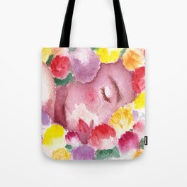 Undying Flowers Tote Bag