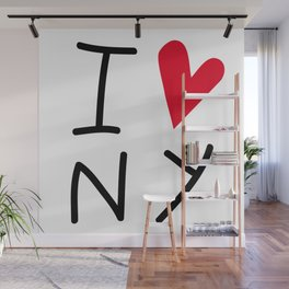 IloveNY Wall Mural