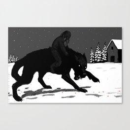 Svart-Alf Canvas Print