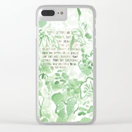 """""""Conquest of the Useless"""" by Werner Herzog Print (v. 2) Clear iPhone Case"""