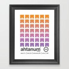 ahtanum single hop Framed Art Print