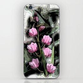 Vintage Orchids  iPhone Skin