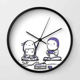Playing NES Wall Clock