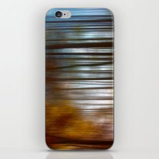 Abstract Autumn Forest iPhone & iPod Skin