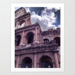 The Colosseo Art Print