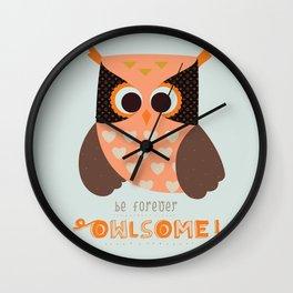 owlsome Wall Clock