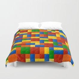 Plastic pieces pattern Duvet Cover