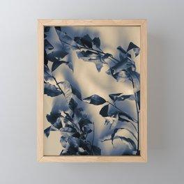 Bay leaves Framed Mini Art Print