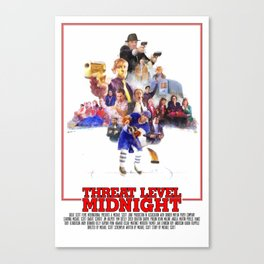 The Office - Threat Level Midnight Canvas Print