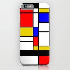 Art work inspired to P. Mondrian (n.1) iPhone 6s Slim Case