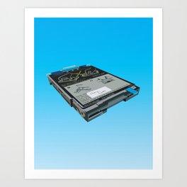 Disk Drive Art Print