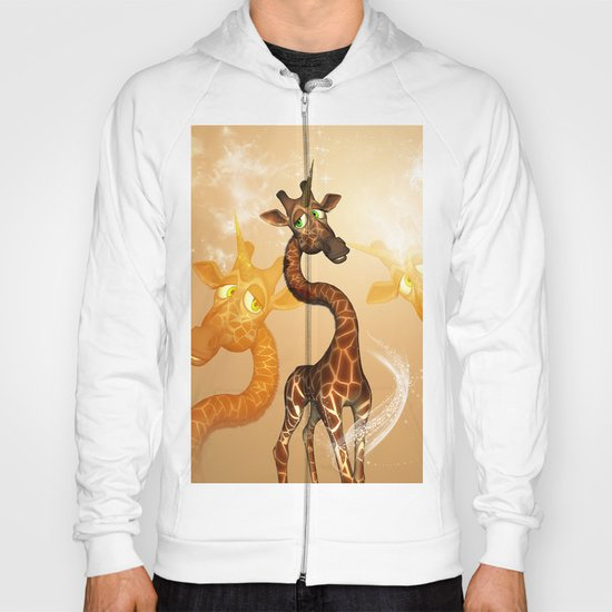 The unicorn Giraffe Hoody