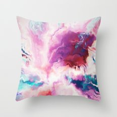 The Absent Minded Artist #society6 #decor #buyart Throw Pillow