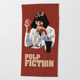 Pulp Fiction Beach Towel