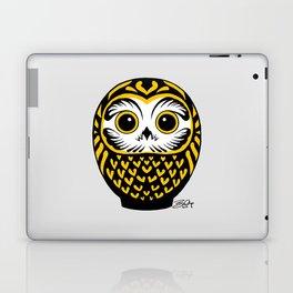 Black Fukuro Daruma Laptop & iPad Skin
