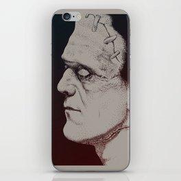 Monster Masters: Boris Karloff iPhone Skin