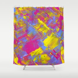 gusts of spring wind Shower Curtain