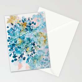 Sunday Sweet Spot Abstract Painting Stationery Cards