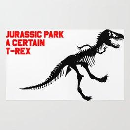 A Certain T-Rex Rug