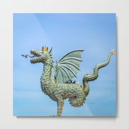 Dragon Zilant Metal Print