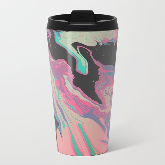 ExtraDimensional Metal Travel Mug