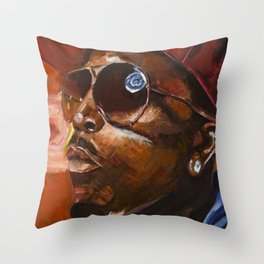 Big Boi Throw Pillow