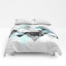 Graphic 110 (Turquoise Version) Comforters