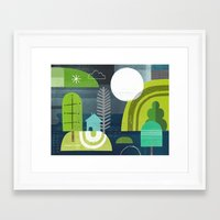 norway Framed Art Prints featuring Norway by Jessie Ford