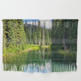 Pacific North West Alpine Lake Wall Hanging