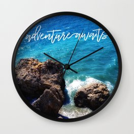 The Great Wave Adventure Wall Clock