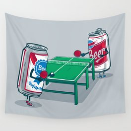 Beer Pong Wall Tapestry