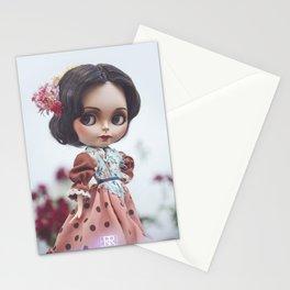 Morena Clara Blythe Custom Doll by Erregiro Stationery Cards