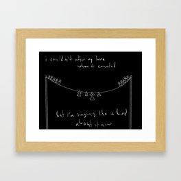 Shrike Framed Art Print