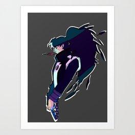 Prosecutor Blackquill Art Print