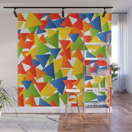Triangle storm Wall Mural