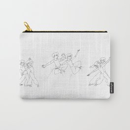 A Dance In Sweatpants I, II, and III Carry-All Pouch