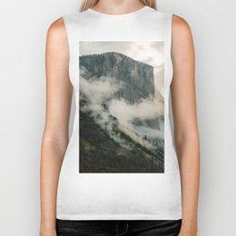 Yosemite fog Biker Tank