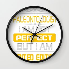 PALEONTOLOGIST Wall Clock