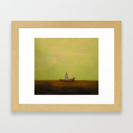 Rock the Boat Framed Art Print
