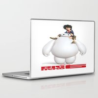 big hero 6 Laptop & iPad Skins featuring Big Hero 6 Best Picture by giftstore2u