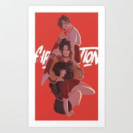 Fire Nation Babes Art Print