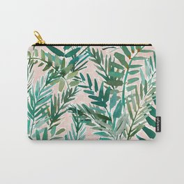 LUSH BLUSH Sunset Palms Carry-All Pouch