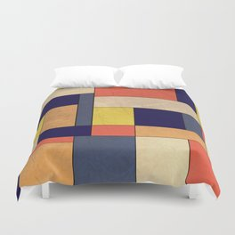 Abstract #350 Duvet Cover