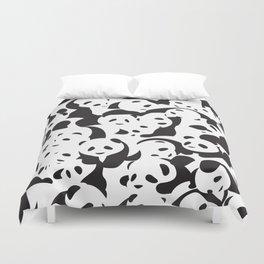 Panda Panda Duvet Cover