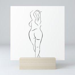 Minimalist Body Mini Art Print