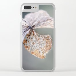 Sparkling Frost Clear iPhone Case