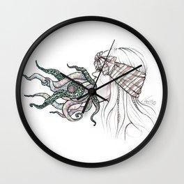Mouthful Wall Clock