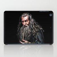 gondor iPad Cases featuring Gandalf  by DavinciArt