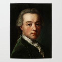 Wolfgang Amadeus Mozart (1756 -1791) portrait Poster