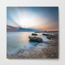 Good Morning Red Sea Metal Print